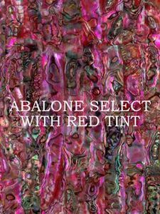 ALVS Green Abalone with Red