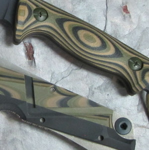 G10 Camo Olive Drab Green & Coyote Brown & Black 3 x 3 Layering 3/16