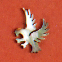 WS 188 Inlay Abalone Eagle .080 x 2mm