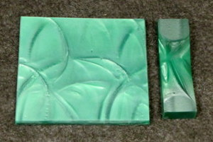 Polyester Emerald Green 1/4