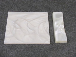 Polyester Mother Of Pearl White 1/4