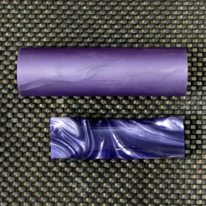 Polyester Purple Pearl Rod 1 1/2