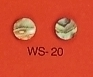 WS 20 Inlay Abalone Dot 7mm Dia. (Bag of 50 Pcs.)